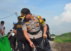 HPSN, Polresta Tangerang Goro Massal TPA Jatiwaringin