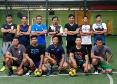 Peringati Hari Bhayangkara 73, Polda Banten Beradu Futsal dengan Pers
