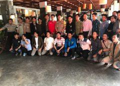 Halal Bihalal Polres Metro Tangerang, Ajak Mahasiswa Deklarasi Damai
