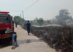 Warga Panik, 2000 Meter Lahan Terbakar Dekat Pemukiman
