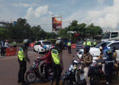 Antisipasi Kerumunan Polres Cilegon Lakukan Pengamanan di Obyek Wisata