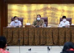 PSBB Tahap III Wali Kota Tangerang Rakor dengan FKUB Pelonggaran Tempat Ibadah
