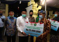 Wali Kota Serang Hadiri Penyerahan BOP Pondok Pesantren