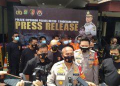 Pelaku Pemerasan dengan Ancaman Kekerasan Dicomot Polsek Cipondoh