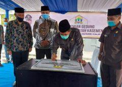 Kantor Kecamatan Kasemen Serang, Baru