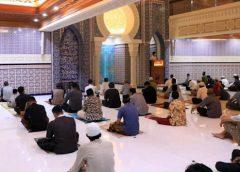 Sholat Tarawih Pertama di Kota Tangerang Terapkan Prokes