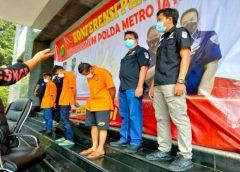 Polda Metro Jaya Tangkap Tiga Pembunuh Bayaran