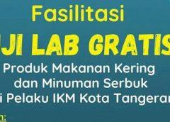 Uji Lab Gratis Bagi Pelaku IKM di Kota Tangerang